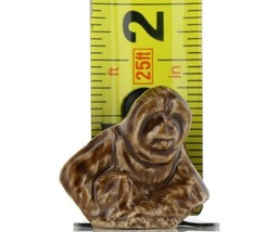 Wade Whimsie Miniature Porcelain Brown Orangutan image 2