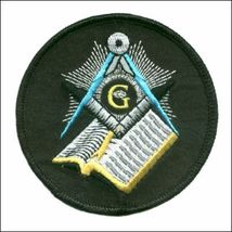 Embroidered Patch Masonic  G Patch - $3.95