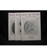 Just Buttons Collector's Magazine July-Sept. 1977 - $10.50