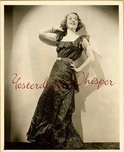 Helene DUMAS Stage RADIO Diva ORG Pinchot NY DW PHOTO - $24.99