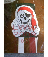 Skull and Crossbones Pirate Halloween Wind Sock - $4.99