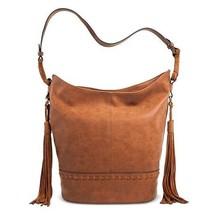 NEW Merona Women's Faux Leather Hobo Whiskey Ha... - $29.95