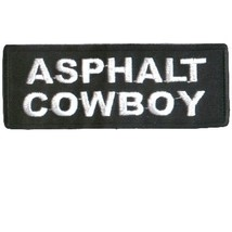 Embroidered Patch Asphalt Cowboy Patch - $3.95