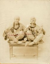 Whimsical Comic Duo Theatrical Act c1915 White NY Photo - $29.99