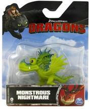 Dreamworks Dragons Mini Monstrous Nightmare Figure Spin Master - $6.00