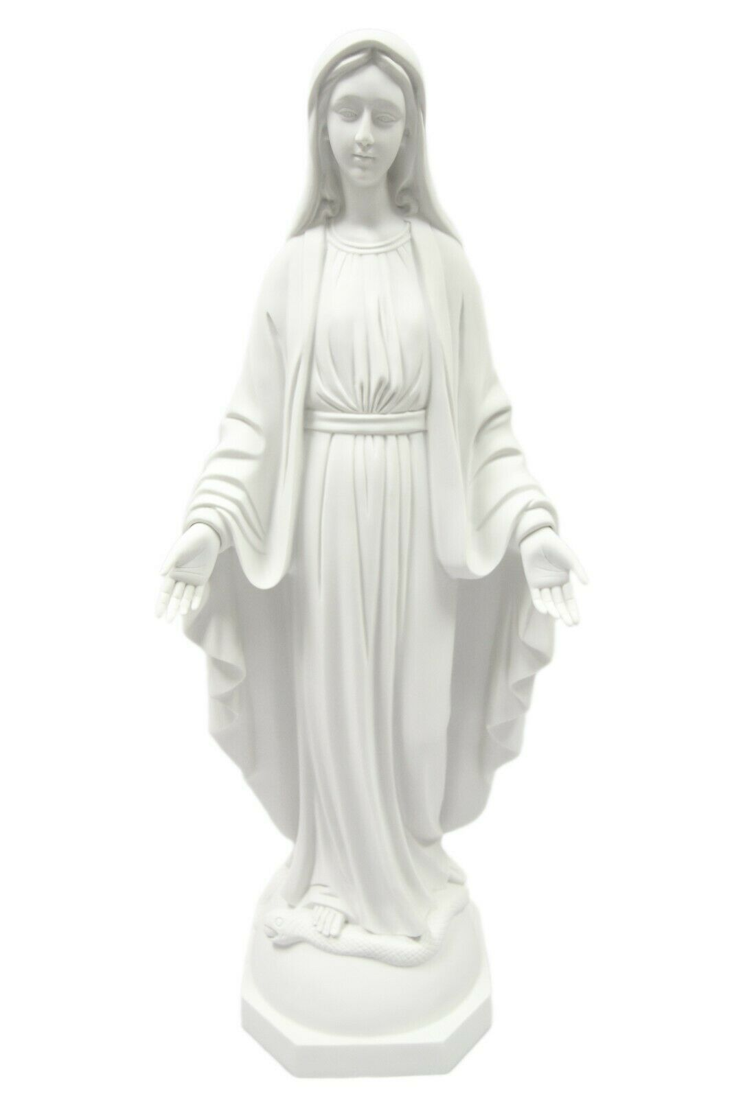 "Primary image for 31"" Our Lady of Grace Virgin Mary Mother Catholic Statue Indoor Outdoor Garden"