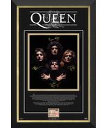 Queen: Freddie Mercury, Brian May, Roger Taylor, John Deacon - Framed Lt... - $415.00