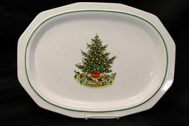 "Pfaltzgraff Xmas Heritage Platter 16"" - $20.53"