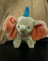 """Dumbo the Elephant Disney  Plush Stuffed Animal  Toy with blue hat 13"""" - $22.00"""