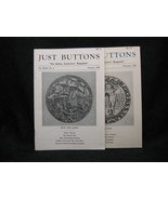 Just Buttons Collector's Magazine Jan.- Feb. 1976 - $7.00