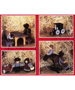 TOLE PAINTING AN AMISH COUNTRY DAY BY LAMB & SUNDHEIMER - $4.95