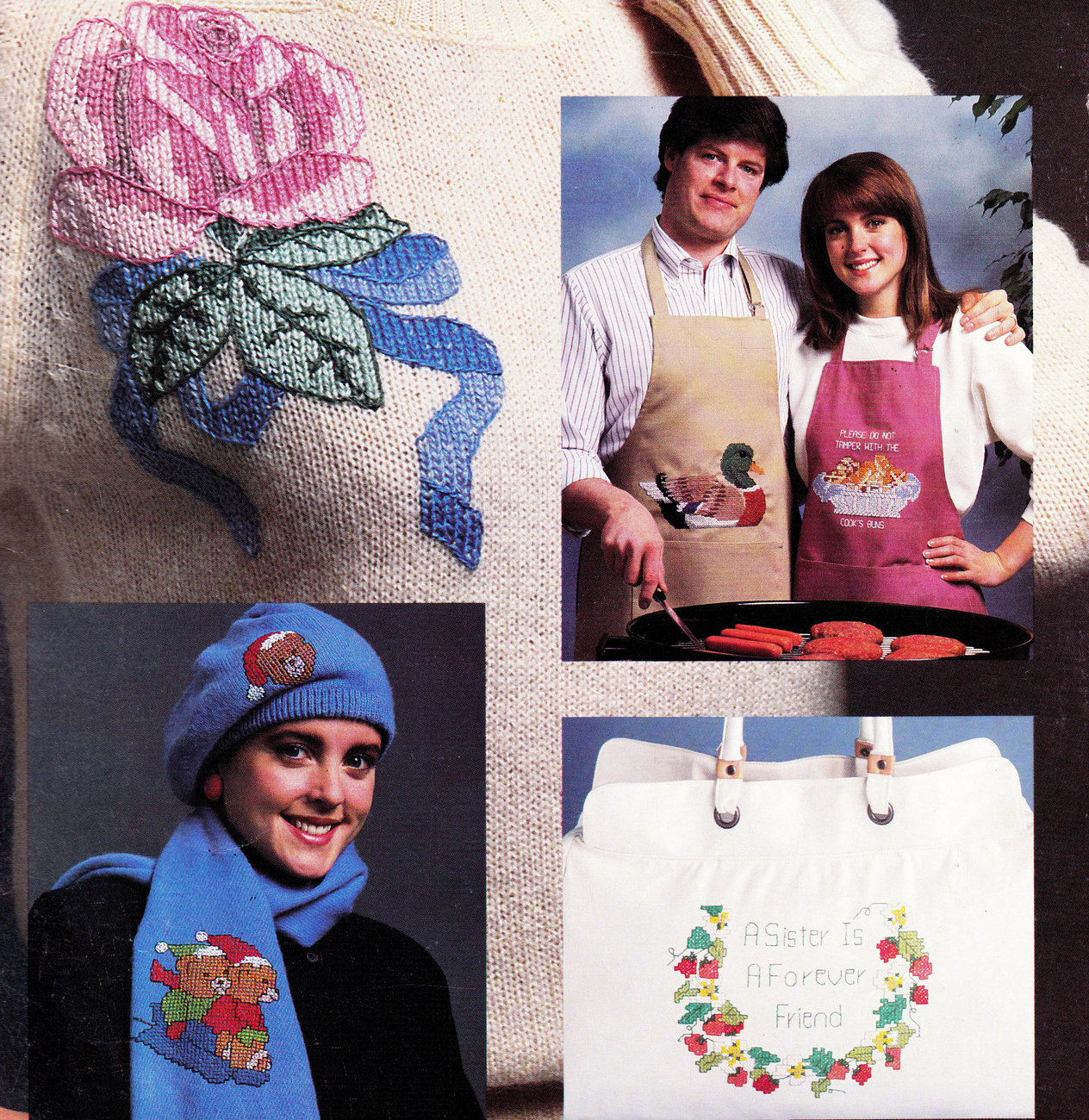 CROSS STITCH SOMETHING SPECIAL WEARABLES  - $4.50