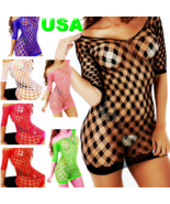 Cytherea Women's Stretchy Fishnet Bodysuits Lingerie Babydoll Lingerie HDL9 - $8.50