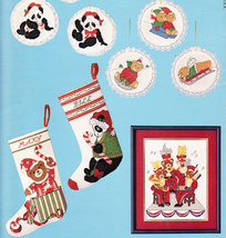 CROSS STITCH NEEDLEPOINT SOMETHING SPECIAL BEAR COLLECTI - $4.95