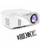 Digital Multimedia Projector with 1080p Support, Up to 120'' Display Scr... - $149.24