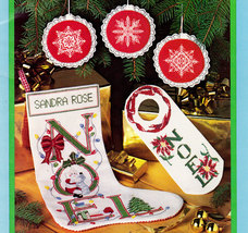 Cross Stitch Needlepoint Something Special Christmas - $4.95