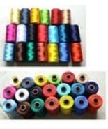 20 DISNEY ARTIFICIAL SILK RAYON HAND/MACHINE EMBROIDERY THREAD NEW - $26.99