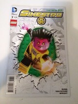 The New 52 Sinestro Lego  #7 DC Comics January 2015 - $9.89