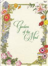 Cross Stitch Gloria & Pat Gardens Of The Mind - $3.95