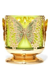 Bath & Body Works Butterfly 3 Wick Candle Holder Stand - $23.36