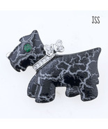 Scottie Dog Brooch Lapel Pin - $9.95