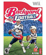 Backyard Football Nintendo Wii 2007 COMPLETE in Case With Artwork Tested - $5.50