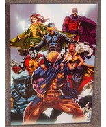 Marvel The X-Men Glossy Print 11 x 17 In Hard Plastic Sleeve - $24.99