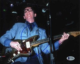 Elvis Costello Signed 8x10 Photo Certified Authentic Beckett BAS COA - $247.49