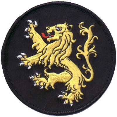 Embroidered Christian Patch The Lion Of Judah Patch