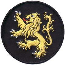 Embroidered Christian Patch The Lion Of Judah Patch - $3.95