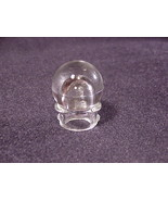 Glass Percolator Top Replacement Knob Cover, Bulb Shaped, with Tabs - $8.95