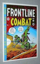 Original 1970's EC Comics Frontline Combat 3 United States Army cover art poster - $29.99