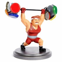 Kenley Magnetic Bottle Cap Holder Strongman Sam Collectible Figurine Dec... - £18.33 GBP