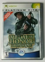 Medal of Honor Frontline Microsoft Xbox Game 2002 EA Games No Manual - $4.99