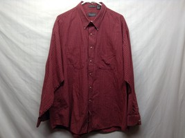 Van Heusen Men's Casual Button Up Collared Shirt Sz XL