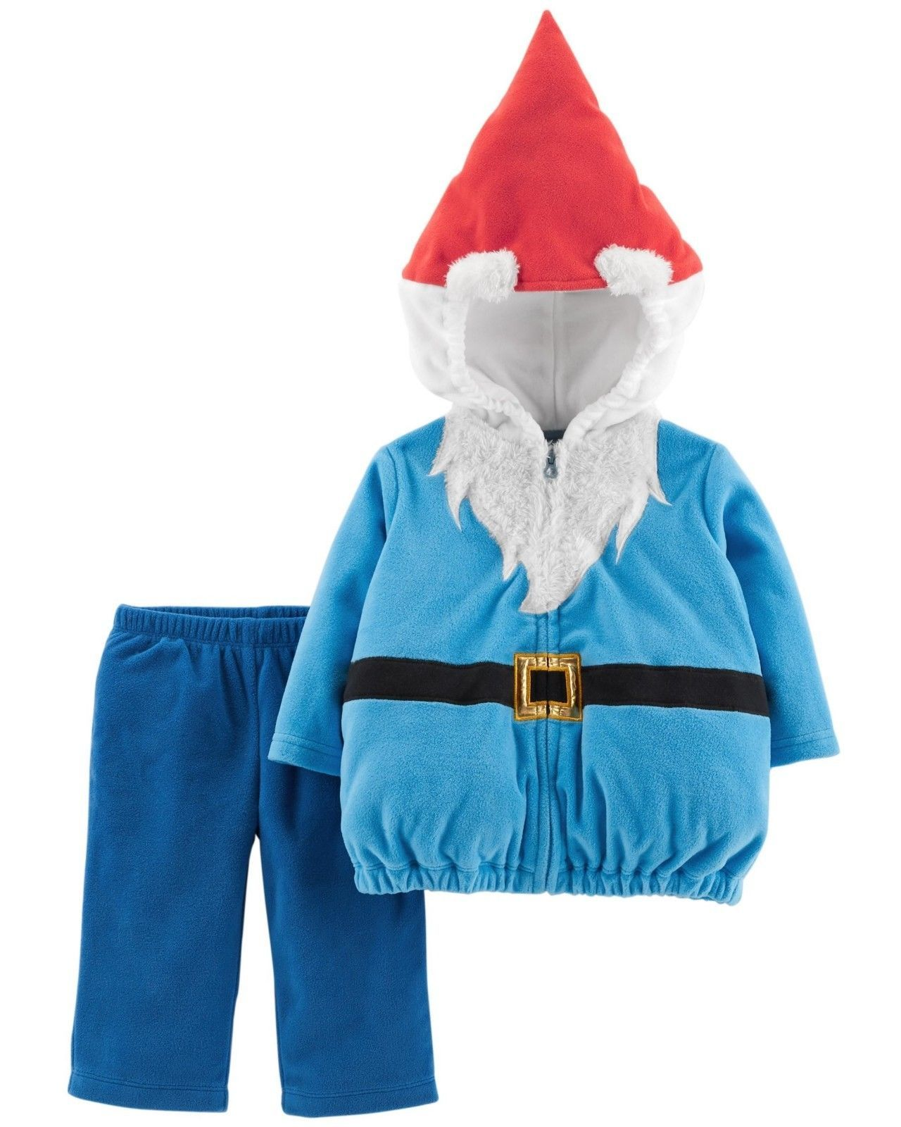 NEW NWT Boys or Girls Carter's Halloween Costume Gnome 3/6 or 6/9 Months