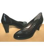 ❤️AGL Attilio Giusti Leombruni Italy Patent Leather Pump 37.5 EXCELLENT!... - $42.74