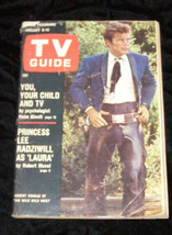 Robert Conrad Wild West Lee Radziwill Tv Guide - $13.99