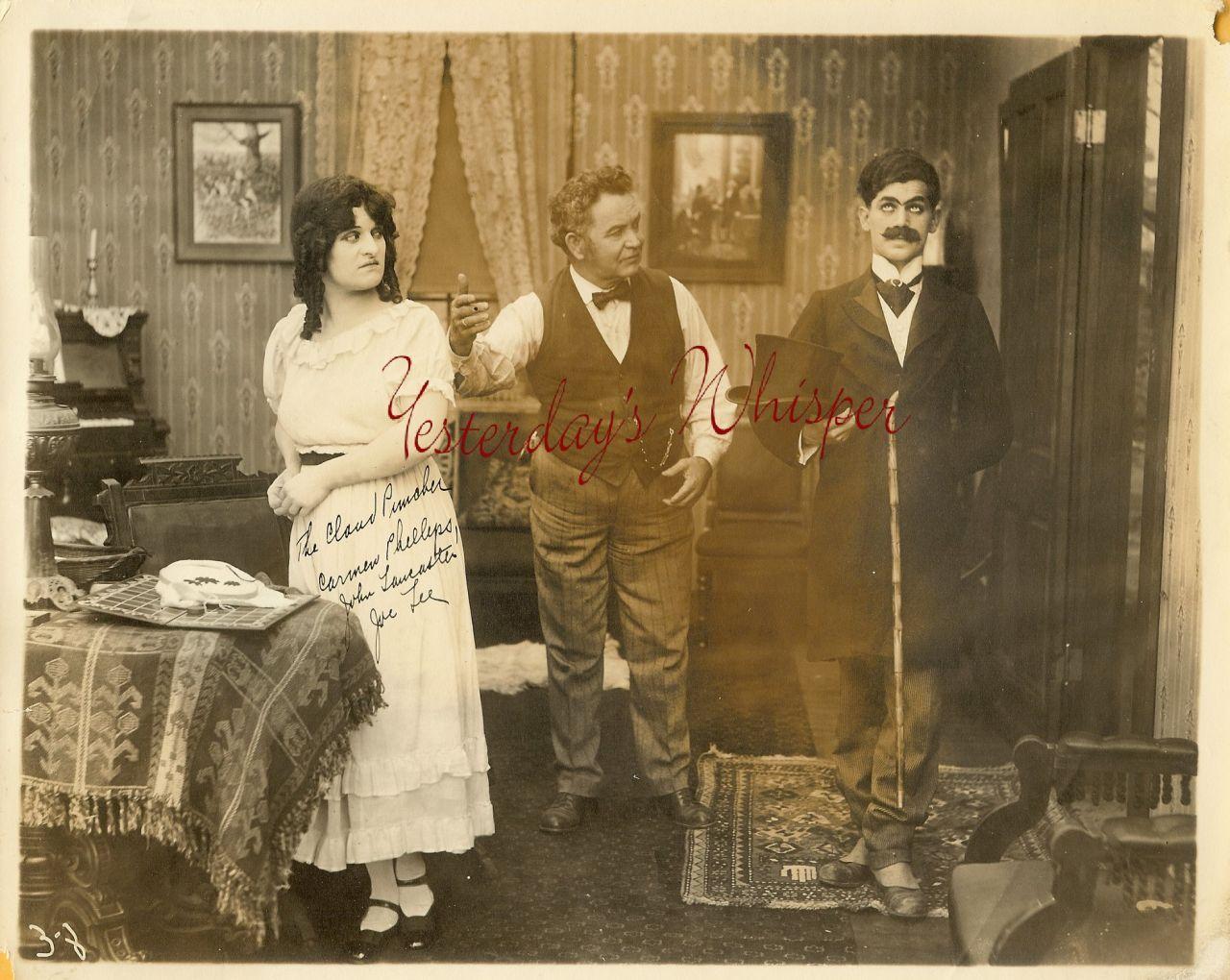 Carmen PHILLIPS John LANCASTER Joe LEE ORG PHOTO i151