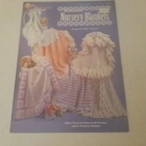 Elegant Nursery Blankets 6 Designs the Needlecraft Shop Crochet - $11.28