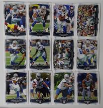 2014 Topps Dallas Cowboys Team Set of 12 Football Cards - $8.00