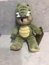 "Ganz Wee Bears Bear: Green Alligator 6"" Plush Stuffed Bear A5 - $12.95"