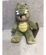 "Ganz Wee Bears Bear: Green Alligator 6"" Plush Stuffed Bear A5 - $12.95"