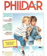Phildar Baby Knitting Magazine No 118 Layettes Toddlers Jacquard Toys & ... - $27.71