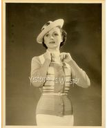 Kay Griffith Hollywood Fashion Cinched waist '36 Photo - $9.99