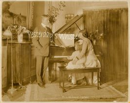 Robert Edeson Family Piano Rare Byron Ny Photograph - $19.99