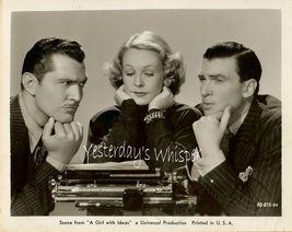 Wendy Barrie Walter Pidgeon Old Typewritter ORG PHOTO - $9.99