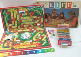 Vintage The Game of Life Board Game 1979 Milton Bradley Complete  - $17.81