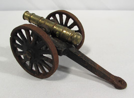 "Vintage Cast Iron Toy Cannon 5"" Long  - $28.99"