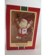 Christmas Hallmark Keepsake 1988 Go for Gold Ornament - $7.69